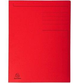 EXACOMPTA Einschlagmappe Forever®, Karton (RC), 3 Klappen, A4, rot