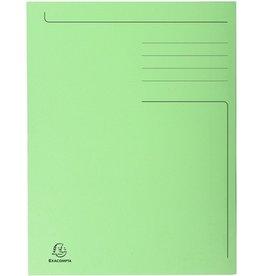 EXACOMPTA Einschlagmappe Forever®, Karton (RC), 3 Klappen, A4, giftgrün
