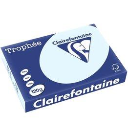 Clairefontaine Multifunktionspapier Trophée, A4, 120 g/m², blau, pastell