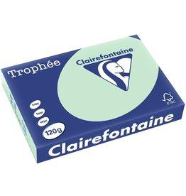 Clairefontaine Multifunktionspapier Trophée, A4, 120 g/m², grün, pastell