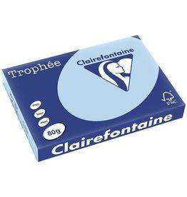 Clairefontaine Multifunktionspapier Trophée, A3, 80 g/m², leuchtendes blau, pastell