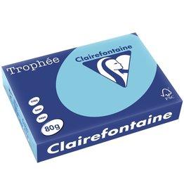 Clairefontaine Multifunktionspapier Trophée, A4, 80 g/m², alizéblau, pastell