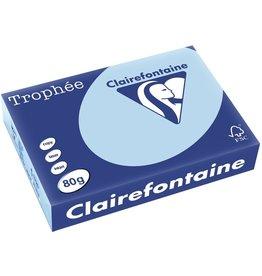 Clairefontaine Multifunktionspapier Trophée, A4, 80 g/m², leuchtendes blau, pastell