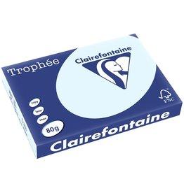 Clairefontaine Multifunktionspapier Trophée, A3, 80 g/m², blau, pastell
