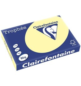 Clairefontaine Multifunktionspapier Trophée, A3, 80 g/m², kanariengelb, pastell