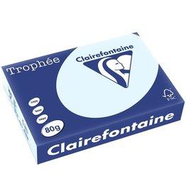 Clairefontaine Multifunktionspapier Trophée, A4, 80 g/m², blau, pastell