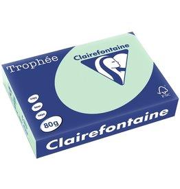 Clairefontaine Multifunktionspapier Trophée, A4, 80 g/m², grün, pastell