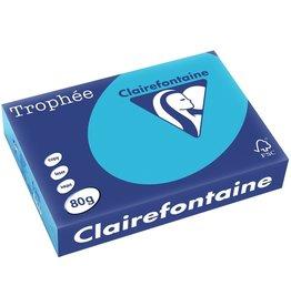 Clairefontaine Multifunktionspapier Trophée, A4, 80 g/m², königsblau, intensiv