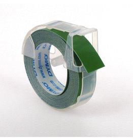 DYMO Prägeband, 3D, Kunststoff, 9 mm x 3 m, grün