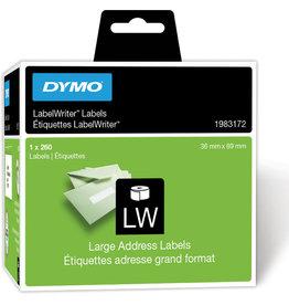 DYMO Etikett LabelWriter, auf Rolle, 36 x 89 mm, weiß