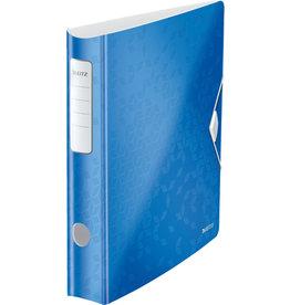 LEITZ Ordner Acitve WOW, Polyfoam, SK-Rückenschild, A4, 65 mm, blau