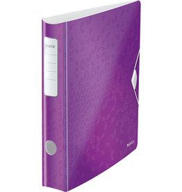 LEITZ Ordner Acitve WOW, Polyfoam, SK-Rückenschild, A4, 65 mm, violett