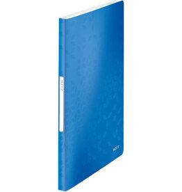 LEITZ Sichtbuch WOW, PP, 40 feste Hüllen, A4, 23,1 x 31 cm, blau