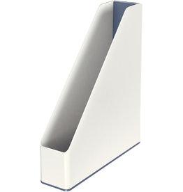 LEITZ Stehsammler WOW Duo Colour, PS, A4, 73 x 272 x 318 mm, weiß/grau