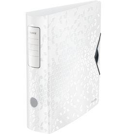 LEITZ Ordner Acitve WOW, Polyfoam, SK-Rückenschild, A4, 82 mm, weiß
