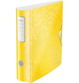 LEITZ Ordner Acitve WOW, Polyfoam, SK-Rückenschild, A4, 82 mm, gelb