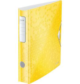 LEITZ Ordner Acitve WOW, Polyfoam, SK-Rückenschild, A4, 65 mm, gelb