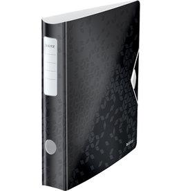 LEITZ Ordner Acitve WOW, Polyfoam, SK-Rückenschild, A4, 65 mm, schwarz