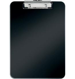 LEITZ Schreibplatte WOW, PS, Klemme kurze Seite, A4, 22,8 x 32 cm, schwarz