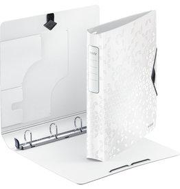 LEITZ Ringbuch Active WOW SoftClick, Polyfoam, A4, Ring-Ø: 30 mm, weiß