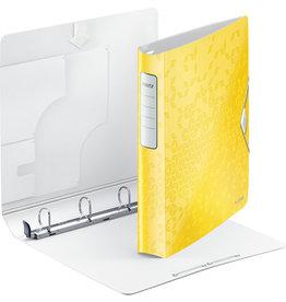 LEITZ Ringbuch Active WOW SoftClick, Polyfoam, A4, Ring-Ø: 30 mm, gelb