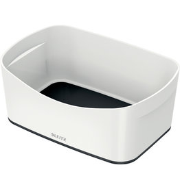 LEITZ Aufbewahrungsbox MyBox® WOW, Schale, ABS, weiß/schwarz