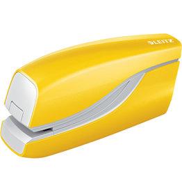 LEITZ Heftgerät NeXXt WOW, elektrisch, 10 Blatt, 1 mm, gelb
