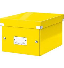 LEITZ Archivbox Click & Store WOW, A5, 22x28,2x16cm, gelb