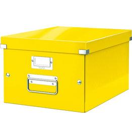 LEITZ Archivbox Click & Store WOW, A4, 28,1x37x20cm, gelb