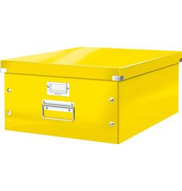 LEITZ Archivbox Click & Store WOW, A3, 36,9x48,2x20cm, gelb