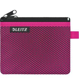 LEITZ Reißverschlusstasche WOW Traveller Zip, S, 6mm, 140x105mm, pink