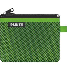 LEITZ Reißverschlusstasche WOW Traveller Zip, S, 6mm, 140x105mm, grün