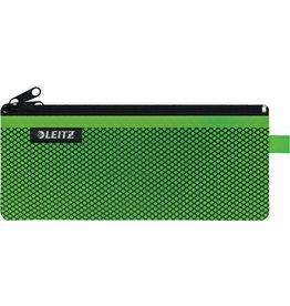 LEITZ Reißverschlusstasche WOW Traveller Zip, M, 6mm, 210x85mm, grün