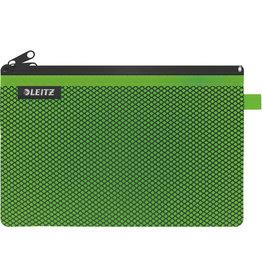 LEITZ Reißverschlusstasche WOW Traveller Zip, L, 6mm, 230x150mm, grün