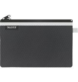 LEITZ Reißverschlusstasche WOW Traveller Zip, L, 6mm, 230x150mm, schwarz