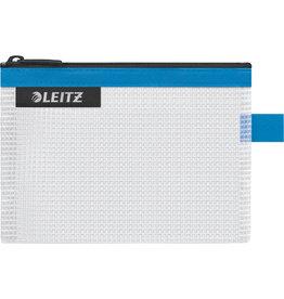 LEITZ Reißverschlusstasche WOW Traveller Zip, S, EVA, 140x105mm, blau