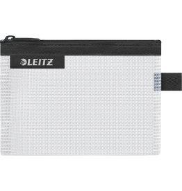 LEITZ Reißverschlusstasche WOW Traveller Zip, S, EVA, 140x105mm, schwarz