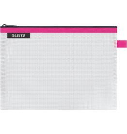 LEITZ Reißverschlusstasche WOW Traveller Zip, M, EVA, 240x170mm, pink