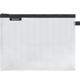 LEITZ Reißverschlusstasche WOW Traveller Zip, L, EVA, 300x230mm, schwarz