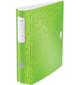 LEITZ Ordner Acitve WOW, Polyfoam, SK-Rückenschild, A4, 82 mm, grün