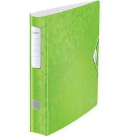 LEITZ Ordner Acitve WOW, Polyfoam, SK-Rückenschild, A4, 65 mm, grün