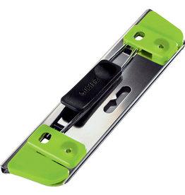 LEITZ Locher Active, ohne Anschlagschiene, 1 - 2 Blatt, grün