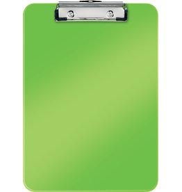 LEITZ Schreibplatte WOW, PS, Klemme kurze Seite, A4, 22,8 x 32 cm, grün