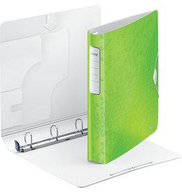 LEITZ Ringbuch Active WOW SoftClick, Polyfoam, A4, Ring-Ø: 30 mm, grün