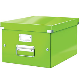 LEITZ Archivbox Click & Store WOW, A4, 28,1x37x20cm, grün