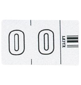 LEITZ Signaletikett Orgacolor®, sk, 0, 23x30mm, weiß
