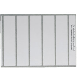 LEITZ Beschriftungsschild, für OCplus®, Pap., sk, 46x195mm, weiß