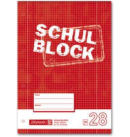 BRUNNEN Briefblock, kar.m.Rand li./re., 4f.Loch., A4, 70 g/m², 50 Blatt