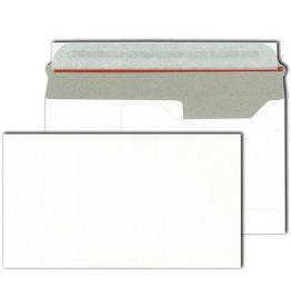 bestpac Briefumschlag, o.Fe., hk, 220 x 125 mm, 250 g/m², Vollpappe, weiß