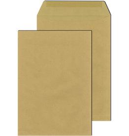 MAILmedia Versandtasche, o.Fe., gummiert, C4, 110 g/m², Natron, braun